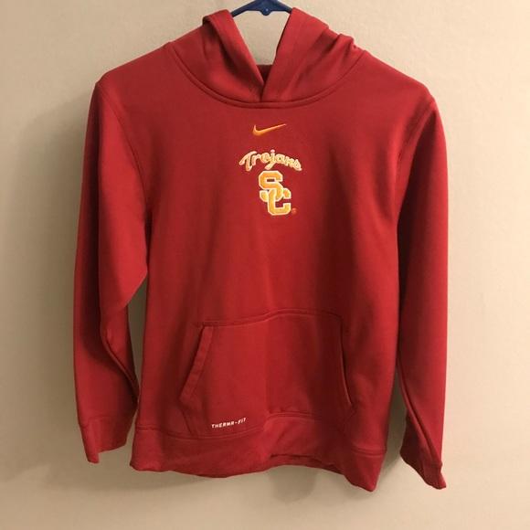 5fbd79dba1c5 Nike USC Hoodie   Sweatshirt. M 5a9656fdfcdc31b3948eaf02
